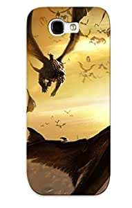 Kwkjop-1044-ubbrekb Case Cover Dragon Swarm Compatible With Galaxy Note 2 Protective Case