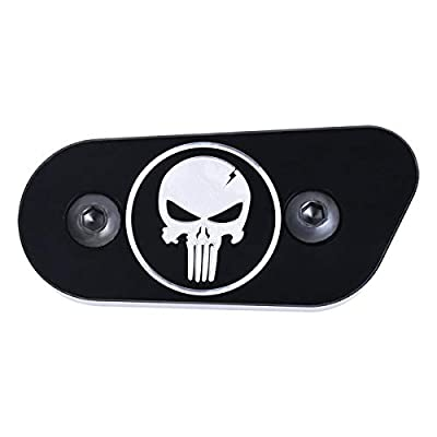 Skull Chain Inspection Cover Guard For Harley Sportster Iron XL 1200 883 48 72: Automotive
