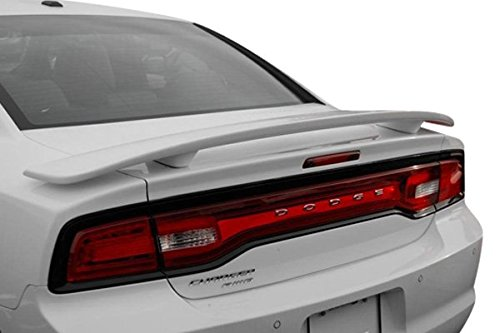 California Dream Compatible With: 2011-14 Dodge Charger Factory Style Spoiler in the Paint Code of Your Choice (HEADER ORANGE PL4)