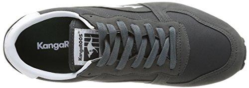 Kangaroos Blaze IV - Zapatillas de Deporte de material sintético hombre gris - Gris (Dk Pineneedle/Pineneedle 885)
