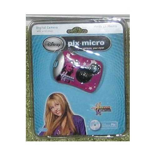 Disney Pix Micro Digital Camera 2.0 - Hannah Montana