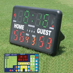 INDOOROUTDOOR TABLETOP SCOREBOARD