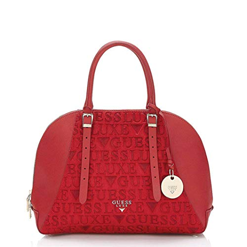 Lady Lady Luxe Satchel Guess Guess Luxe Leather Satchel Fuchsia Guess Luxe Lady Leather Fuchsia wzvqxAYa