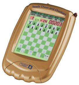 Handheld Electronic Chess Game (Touch Chess and Checkers)