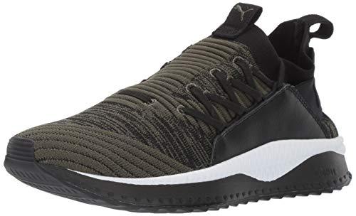 PUMA Men's Tsugi Jun Sneaker, Forest Night Black, 14 M US