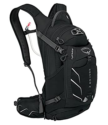 Best Hydration Pack for Mountain Biking; Osprey Packs Raptor 14 Hydration Pack, Black