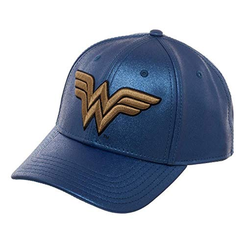 Wonder Woman Logo Glitter Snapback -