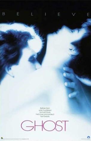 Ghost  36x24 Movie Art Print Poster Romance Love Story