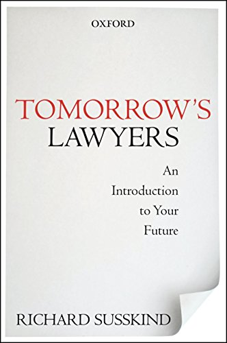 Image of Tomorrow's Lawyers: An Introduction to Your Future