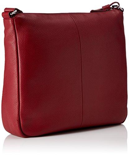 Bree Faro 3 bolso bandolera piel 37 cm red_dark red, rot