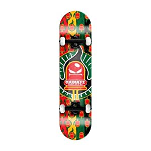 Rockboard Radiate Skateboard- Rasta Logo
