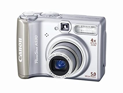 canon powershot a530 battery problem