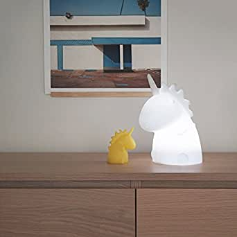 Smoko Junior Multicolor LED Unicorn Lamp, 5 Lighting Modes, Remote Control