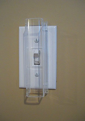 Child Proof Light Switch Guard For Standard Toggle Style Light