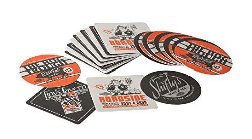 Harley-Davidson H-D Pit Stop Paper Coaster Set (Paper Davidson Harley)