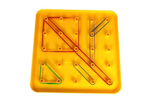 Discovery Toys Giant Pegboard with Chunky Stacking Shapes
