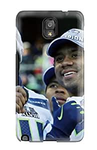 Hot Seattleeahawks First Grade Tpu Phone Case For Galaxy Note 3 Case Cover by lolosakes
