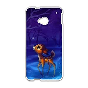 Bambi HTC One M7 Cell Phone Case White gift pp001_9426359