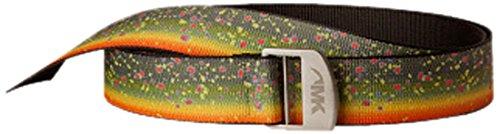 Trout Belt (Mountain Khakis Adult Trout Webbing Belt, Brook Trout, One)