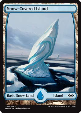 Magic: The Gathering - Snow-Covered Island - Modern Horizons -