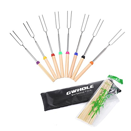 GWHOLE Marshmallow Roasting Telescoping Skewers