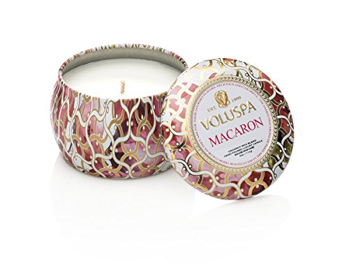 Voluspa Maison Blanc Petite Decorative Tin Candle MACARON by Voluspa