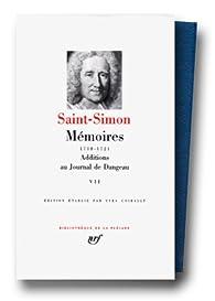 Mémoires, tome 7 : 1718 1721 par  Saint-Simon