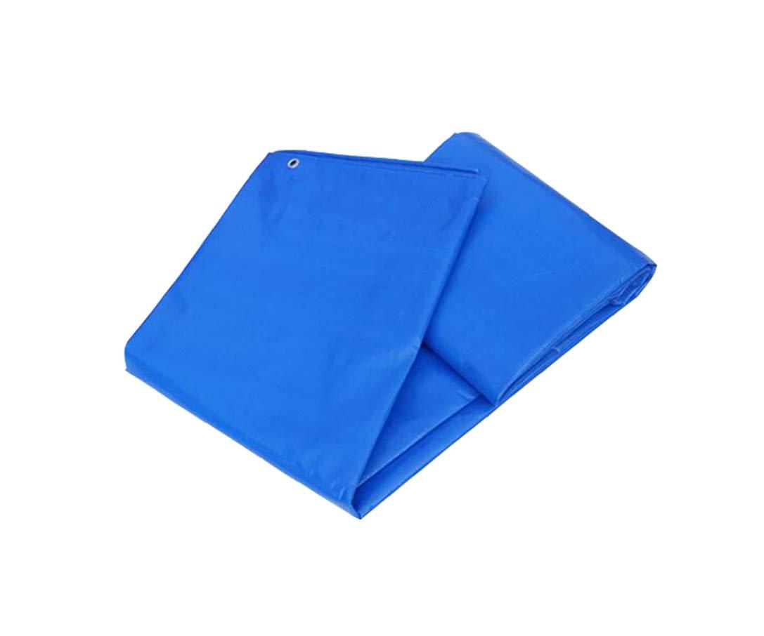XUERUI シェルター ターポリン テンション 防カビ 耐熱性 涙に抵抗する 汎用1㎡=180g (サイズ さいず : 6x7m) 6x7m  B07HRMVZNR