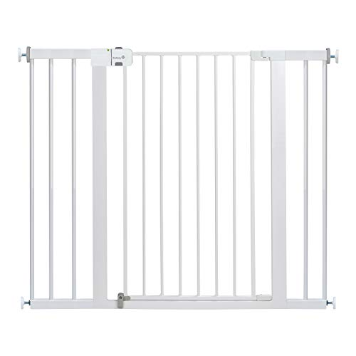 Safety 1st Easy Install Extra Tall and Wide Baby Gate with Pressure Mount Fastening ()