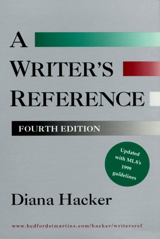 Writer's Reference (with 1999 MLA Update)