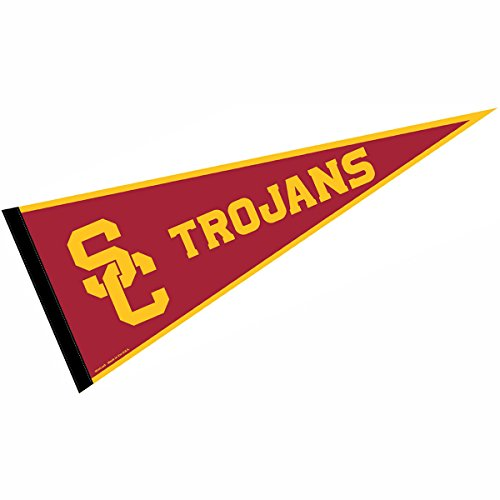 College Flags and Banners Co. USC Pennant Full Size Felt]()