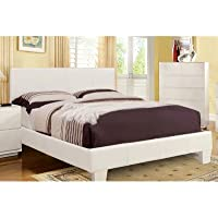 Maxwell Platform Bed Size: Full, Finish: White