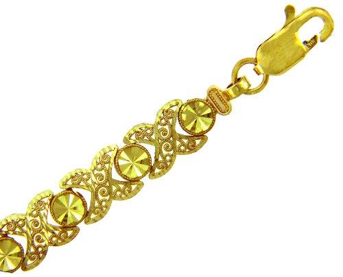 Petits Merveilles D'amour - 14 ct Or Jaune Bracelet - Nova Bracelet
