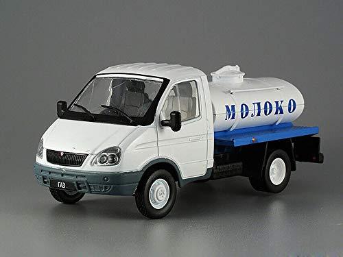 GAZ-3302 Gazelle Russian Milk Tanker 2003 Year 1/43 Scale Collectible Model - Milk Tanker