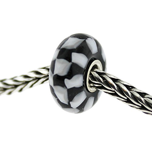 Authentic Trollbeads Glass 61399 Chess