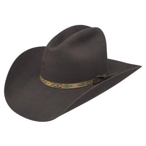 Charlie 1 Horse ''Runaway Gray'' Ladies Felt Cowboy Hat (6-3/4) by Charlie 1 Horse