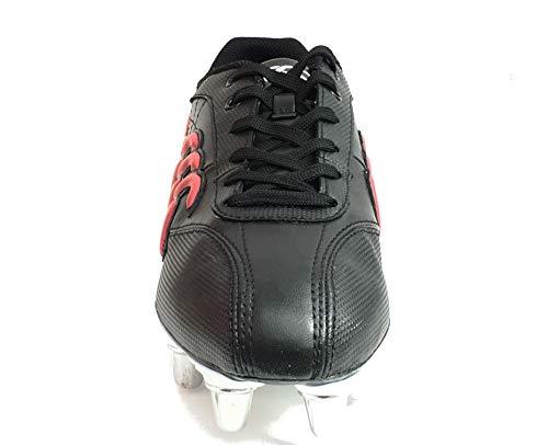 8 Club Adulte Ii Noir Canterbury Stud De Phoenix rouge Chaussures Rugby Mixte wUBxg