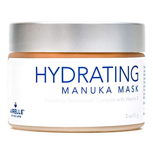 Anti-Aging Hydrating Manuka Honey Face Mask by Airelle Rejuvenate and Soothe Dry Skin Helps Improve Wrinkles, Uneven Skin Tone Dermatologist Recommended Natural Ingredients 2 Ounce