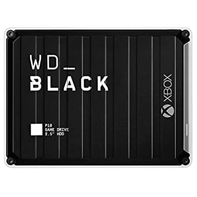 WD Black P10 Game Drive, Compatible with PS4, Xbox One, PC, Mac by Western Digital