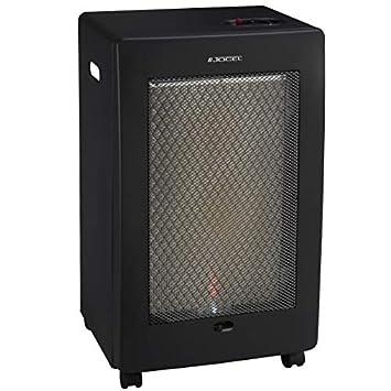 ElectrodomesticosN1 Pack Estufa Jocel de Butano JAG014122 Catalítica, 2500 W + Regulador de Gas butano HVG, Tubo Manguera 1, 5 Metros, ...