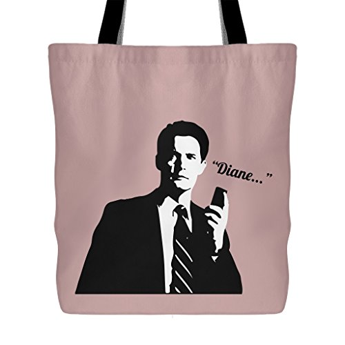 Twin Peaks - Dale Cooper With His Recorder Saying Diane - Tote Bag by Twin Peaks Dale Cooper With Recorder Totes (Image #1)