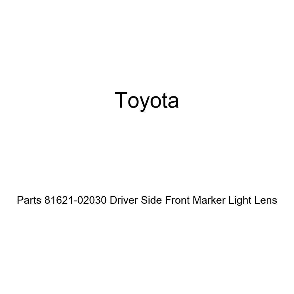 Genuine Toyota Parts 81621-02030 Driver Side Front Marker Light Lens