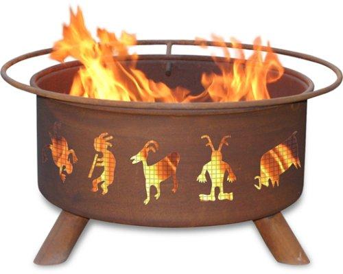 (Patina Products F112,  30 Inch Kokopelli Fire Pit )