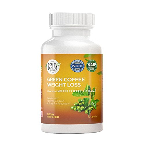 Green Coffee Bean Weight Loss - Appetite Suppressant | Diet Pills | Fat Burner | Health Booster Supplements | Belly Buster | Metabolism Booster Capsules | Maximum Strength Natural Extract Formula