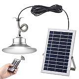 Weatherproof Solar Pendant Light, 36LED Indoor