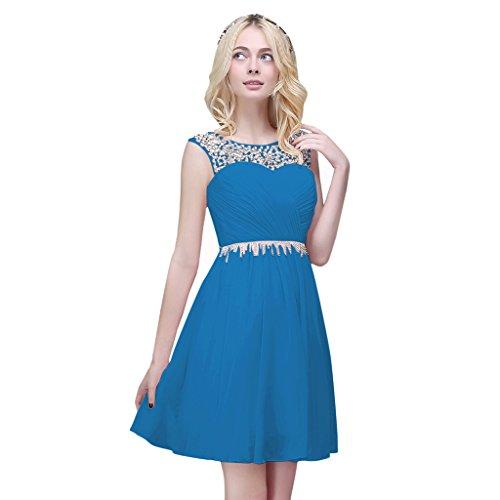 Vimans -  Vestito  - linea ad a - Donna Blue 2 46