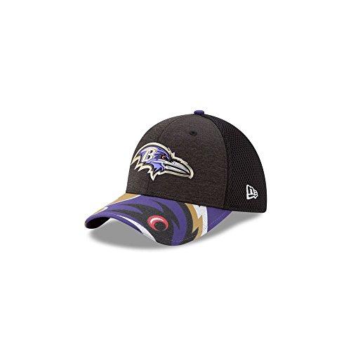 Baltimore Ravens Draft - NFL Baltimore Ravens 2017 Draft On Stage 39Thirty Stretch Fit Cap, Medium/Large, Black