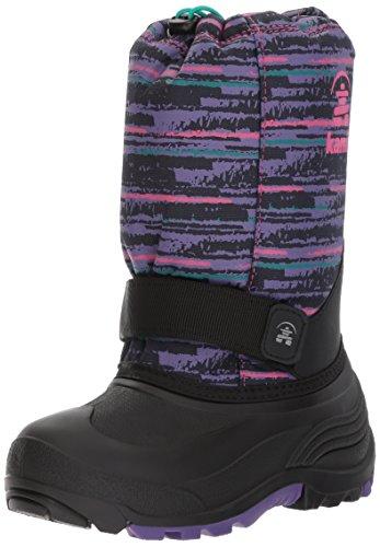 Kamik Girls' Rocket2 Snow Boot, Purple/Pink, 10 Medium US - Kamik Rocket