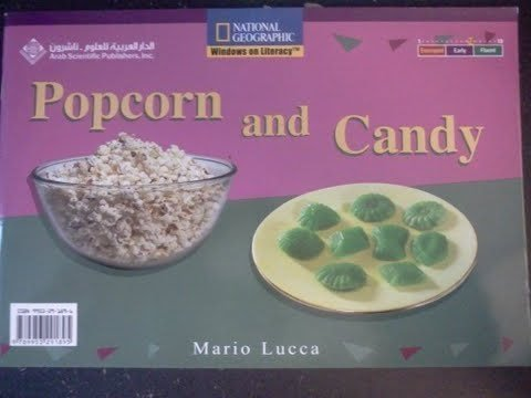 Popcorn and Candy (English and Arabic) (National Geographic Windows on Literacy)
