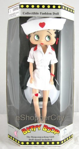 "12"" Nurse Betty Boop Fashion Doll"
